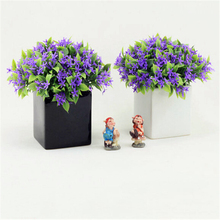 2 pcs/set Small square ceramic flower pots vases creative home decoration supplies modern black and white brief flower vase