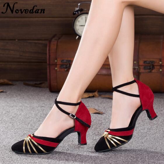 DB24225 closed toe latin salsa dance shoes-20_