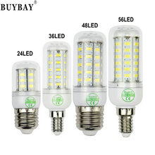 Ultra bright SMD5730 e27 led corn bulb 24 36 48 56leds 220V lampadine led light chandelier lamp GU10 G9 E14 Bombillas lampada