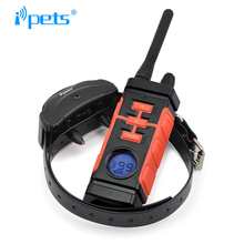 Ipets 616-1 Newest 800M Rechargeable And Waterproof Vibration Electric Shock Collar Dog