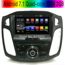 Android 7.1 Quad-core 2GB Car DVD Player For Ford Focus 3 Focus 2012 2013 2014  2015 Canbus GPS Navigation Bluetooth Radio 3G