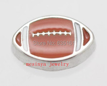 10pcs American football floating charms for glass locket,FC-027.Min amount $15 per order mixed items