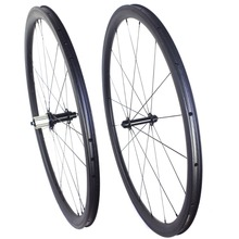 700C tubeless Road carbon wheels 35mm 38mm 50mm 60mm carbon wheelset 25mm width U shape tubeless wheels compatible with clincher