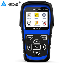 Nexas NL102P Auto Car Truck Diagnostic Tool 2 in 1 Engine/Oil Light Service/DPF Reset for Car Truck Heavy Duty Truck Scanner(China)