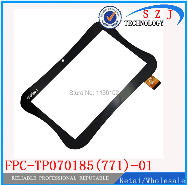 (Ref: FPC-TP070185(771)-01 ) Original 7 Clementoni myfirst Clempad Tablet touch screen panel Digitizer Glass Sensor 5Pcs/lot<br><br>Aliexpress