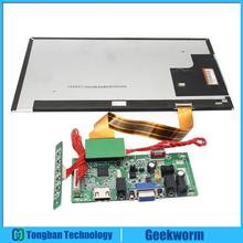 Raspberry Pi 3 \ Orange Pi \ Tablet PC 10 Inch Full HD (1920 x 1080) TFT LCD Independent Display Screen +LVDS HDMI Drive Board