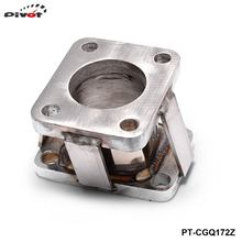PIVOT - T3 To TD05 Stainless Flange Turbo Charger Manifold Exhaust Conversion Adapter  PT-CGQ172Z