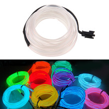 3M Car Home Shop Store Displays Party Model Making Night Fishing DIY EL Wire Neon LED Strip Light Bulbs Car Interior Decor