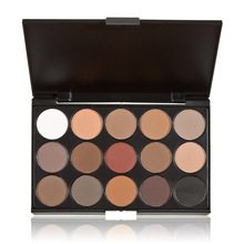 3 Style New fashion 15 Earth Color Matte Pigment Eyeshadow Palette Cosmetic Makeup Eye Shadow for women(China)