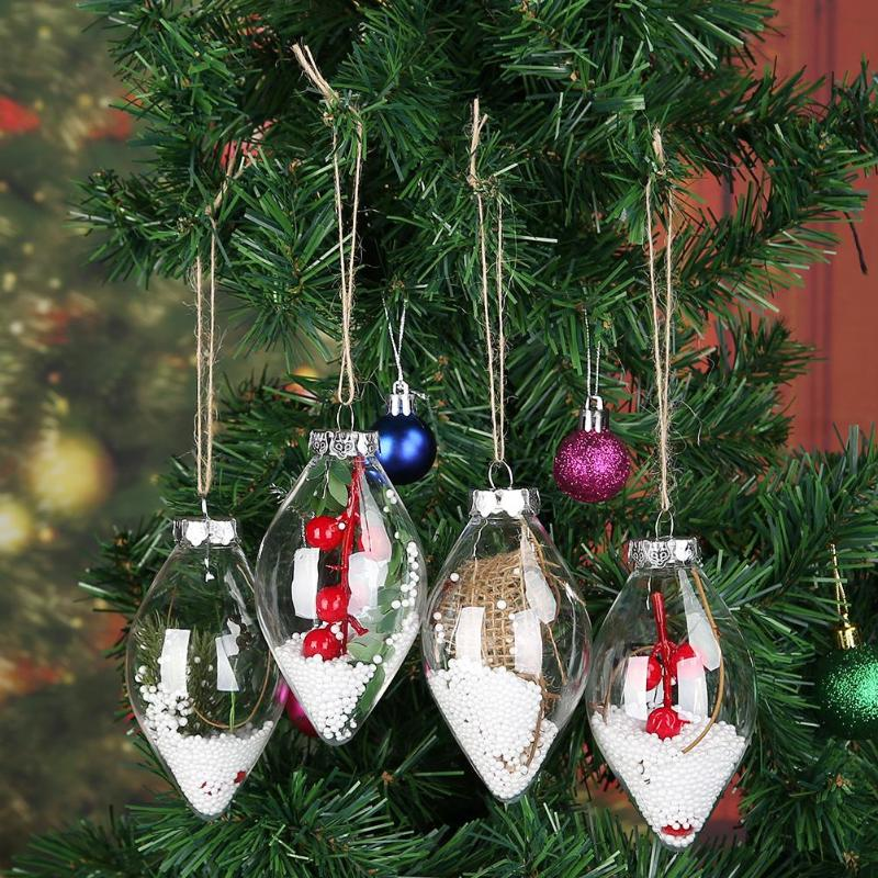 11PCS//LOT Christmas Balls Baubles Xmas Tree Hanging Ornament Xmas Decoration