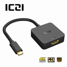 ICZI USB 3.1 Type C HDMI Cable Adapter (Thunderbolt 3) 4K@30HZ USB C HDMI Cable MacBook, Chromebook Pixel Lenovo Yoga 900