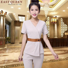 Maternity hospital nurse uniform medical work wear uniform female nursing scrubs tops+pants suits S-XXXL AA2695 YQ(China)