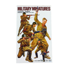 OHS Tamiya 35311 1/35 Russian Assault Infantry 1941-1942 Set Miniatures Assembly Military figures Model Building Kits TTH(China)
