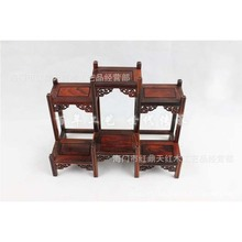 Top grade mahogany mahogany frame Dubbo miniature Rosewood Shelf teapot frame decorative frame factory outlets