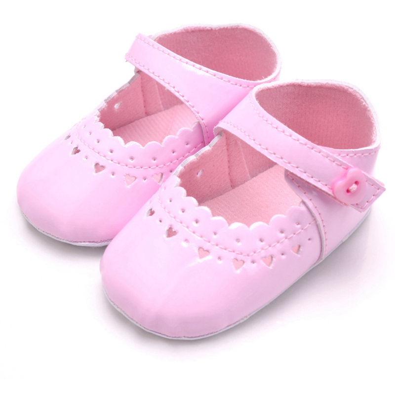 Flower Spring / Autumn Infant Baby Shoes Moccasins Newborn Girls Booties for Newborn 3 Color Available 0-18 Months 27