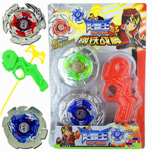 MIRABBIT 3In1 Multi-function Beyblade Children Classic Toy Sports Gyro Set Toy with Launcher Spinning Tops High Quality Gyro Toy(China)