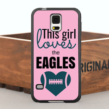 This Girl Loves Eagles Case for iPhone 5 5S  6/6s/7 Plus and Case for Samsung Galaxy Note2 3 4 5 7 S4 S5 S6 Edge Plus S7 Edge
