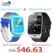 Get $10 OFF on orders over $50.00,smart watch child&adult,GPS tracker watch for kids,men&lady android wristwatch,connect phone