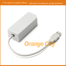 New USB 2.0 LAN Adapter Network Card For Wii Console Video Game Wholesale(China)