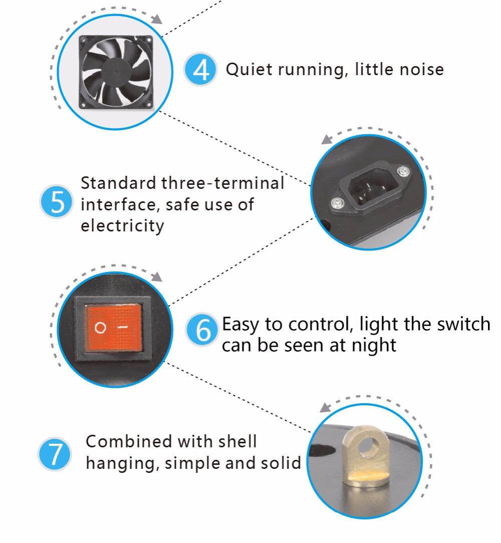 Aquarium led lighting Dimmable lamp Fish bowl light Marine Fish tank Coral lights High brightness Penetrating strong FCC CE ROHS (22)