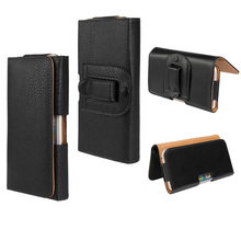 "Classic PU & Litchi Leather Belt Clip Holster Mobile Phone Pouch Bag Case For Xiaomi Redmi 3 3s/ Hongmi 3 5.0"" Flip Magnet Cases"