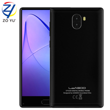 "NEW LEAGOO KIICAA MIX Cellphone Android 7.0 MTK6750T Octa-Core RAM 3G ROM 32G 5.5""FHD 13.0MP Front Fingerprint Molile Phone(China)"
