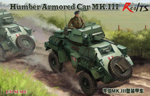 RealTS Bronco CB35112 1/35 WWII British Humber Armored Car MK.III(China)