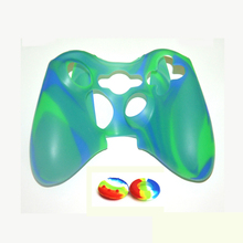 Hot sale popular Silicone Skin Cover Compatible for XBOX 360 case gamepad shell skin protector with joystick buttons