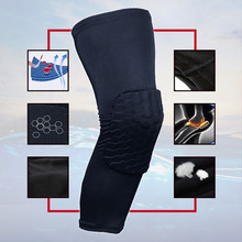1pc Sport Safety Football Basketball KneePads Tape Elbow Tactical Knee Pads Calf Support Ski/Snowboard Kneepad(China)