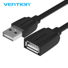 Vention USB Data Sync Transfer Extender Cable USB2.0 Male to Female USB Cable Extend Extension Cable Cord Extender For PC Laptop(China)
