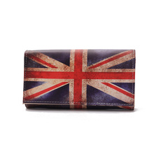 QingGuILv 2017 High Quality Women's Purse New Lady Mickey Flag Purse Long Wallet Single Zipper Clutch Bag Female Wallet(China)