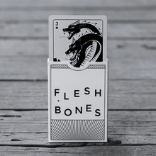 1Pcs Flesh and Bonesoriginal import poker Playing cards Magic Deck Props Magia Tricks Brand New Sealed(China)