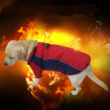 High Technology Heat Reflective Dog Coat Outdoor Jacket Waterproof Warm Pet Clothes Reversible Design for Dogs(China)