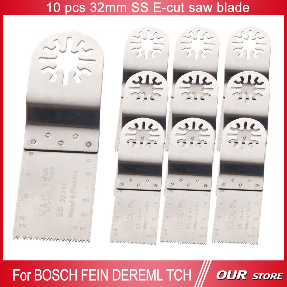 10 pcs SS 32mm wood cutting oscillating  tool saw blade for Fein Multimaster craftsman,Dremel tool,FREE SHIPPING<br><br>Aliexpress
