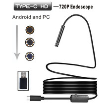 2 in 1 Android USB / TYPE-C Endoscope Inspection 5.5mm Camera 8 LED IP67 Waterprof for Android/Windows /7/8/10 1M/3M/5M/1M/10M (China)