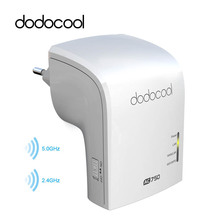 dodocool Wireless Router Wifi Repeater Router AP Access Point Dual Band 2.4GHz 300Mbps 5GHz 433Mbps 802.11a/b/g/n/ac WiFi Router(China)