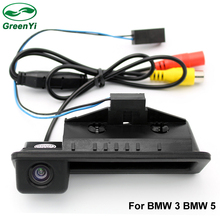 GreenYi CCD Rear View Vehicle Camera For BMW 3 Series 5 Series BMW X5 X1 X6 E39 E46 E53 E82 E84 E88 E90 E91 E92 E93 E60 E70 E71(China)
