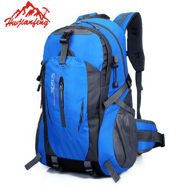 New Fashion 40L Casual Sport Travel Backpacks Men Women Backpack Hiking Backpacks Mountain Bag Climbing Camping Backpack<br><br>Aliexpress