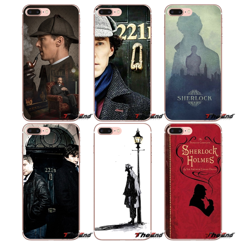 Чехлы 221B i am Sherlock Holmes Sherlocked для Huawei Honor 7X V10 6C V9 6A Play 9 Mate 10 Pro Y7 Y5 P8 P10 Lite Plus GR5