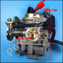 GY6 50CC PD18J 18mm Carburetor for 49CC 50CC ATV Quad Scooter Moped Go kart