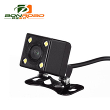 Back Camera HD CCD 4 LED Night Vision Car RearView Camera Wide Angle Universal Car Reverse Camera Car Backup Parking Camera