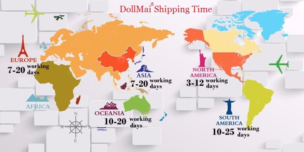 DollMai Shipping Time
