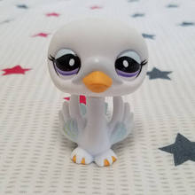 Original LPS quality cute toys Lovely Pet shop animal White Swan action figure littlest doll