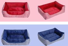 2017 Pet Bed Dog Beds Mechanical Wash Waterproof Print Cama Para Cachorro Perro Casa Manufacturers Direct Pet Square Nest Sofa