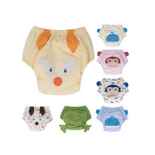 Cartoon Baby Potty Training Pants Waterproof Learning Pants Reusable Briefs Panties for Toilet Training Child Nappy Pants Diaper(China)