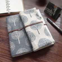 Korean Style Tree Elephant National Pattern Handmade Pencil Case Large Capacity Pen Pencil Bag School Stationery Supply CC