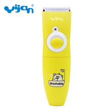 Yijan T610s Professional Electric Hair Clipper Rechargeable Hair Trimmer Hair Cutting Machine Haircut Beard Trimmer Waterproof(China)