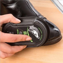 Multifunctional double-faced shoe polish Colorless light shoes rub leather care oil sponge shoe wax black shoes brush