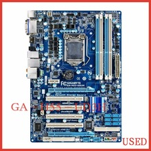 free shipping original motherboard for gigabyte GA-H55-UD3H LGA 1156 DDR3 H55-UD3H 16GB for I3 I5 I7 H55 desktop motherboard