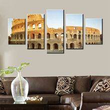 City Landscape Paintings Wall Art Decor Colosseum in Rome Italy Picture Print on Canvas for Modern Home Decoration HD Print Gift